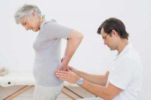 Пациент жалуется на боль в пояснице
