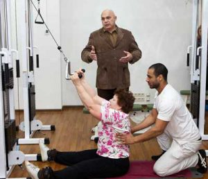 Лечение шейного остеохондроза по Бубновскому
