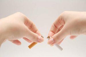 Сломать сигарету