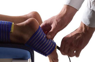 Электрофорез на ноги