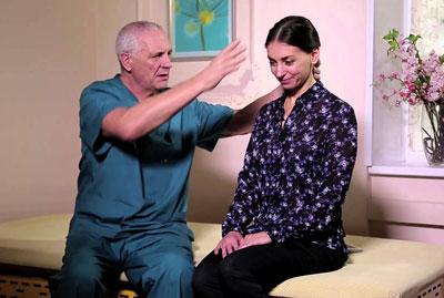 Упражнения под наблюдением врача