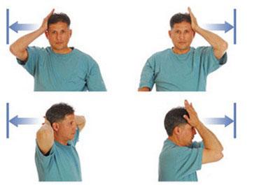 Простые упражнения при остеохондрозе