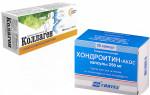 Что выбрать: хондроитин или коллаген?