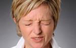 Появления мерцания в глазах при шейном остеохондрозе