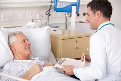 пациент под наблюдением врача