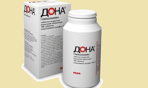 Препарат Дона в форме таблеток хорошо усваивается организмом, и лечебный эффект наступает раньше на несколько недель