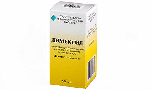 Димексид вместе с Диклофенаком не применяют при сбое в кроветворной системе