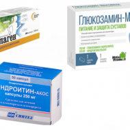 Можно ли принимать одновременно коллаген, глюкозамин и хондроитин