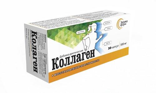 Коллаген совместно с Глюкозамином и Хондроитином восстанавливает ткани после получения травмы