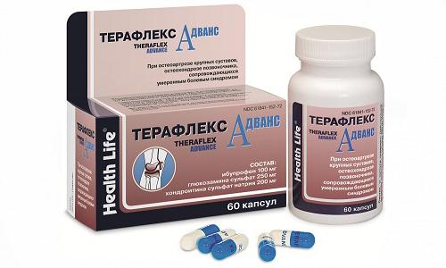 Терафлекс Адванс нельзя использовать для лечения пациентов с почечной недостаточностью
